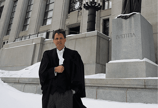 Watch Mr. Ball making a winning argument before the entire Supreme Court of Canada​